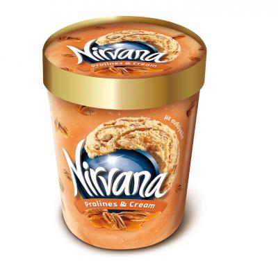 Сладолед Nirvana бонбони и сметана