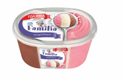 Сладолед Familia Неаполитана