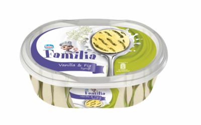 Сладолед Familia ванилия и сироп смокиня