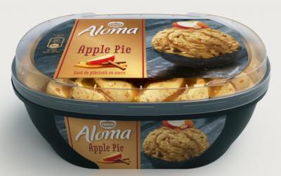 Сладолед Aloma ябълков пай