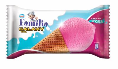 Сладолед Familia Galaxy ягода