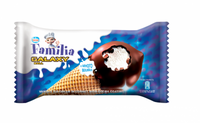 Сладолед Familia Galaxy ванилия