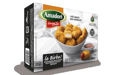 Панирани пилешки хапки Amadori