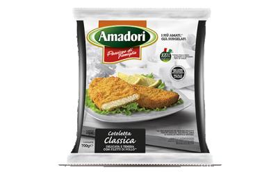Панирано пилешко филе Amadori