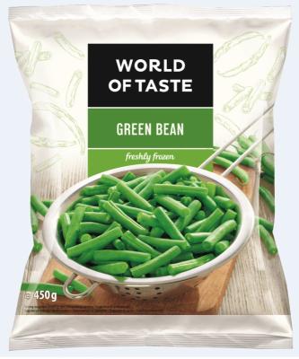 Зелен Боб World of Taste