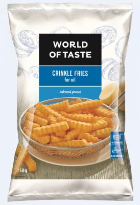 Картофи за пържене World of Taste къдрави