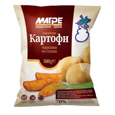 Пикантни селски картофи Магре
