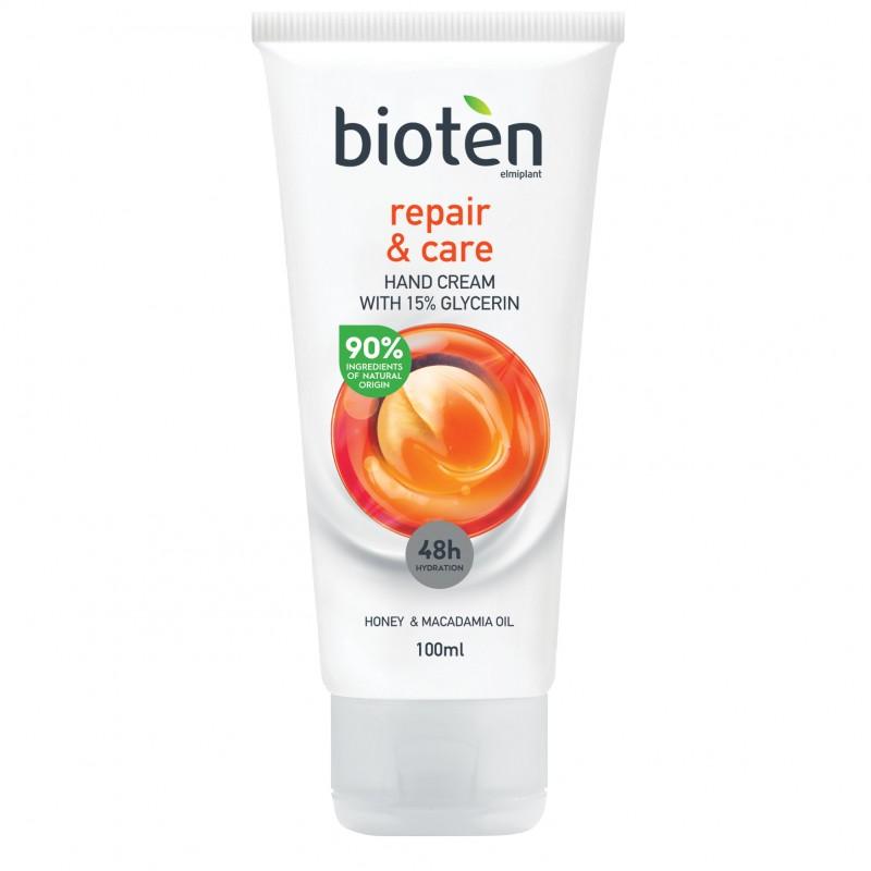 Възстановяващ крем за ръце Bioten