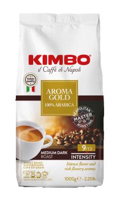 Кафе на зърна KIMBO Aroma Gold