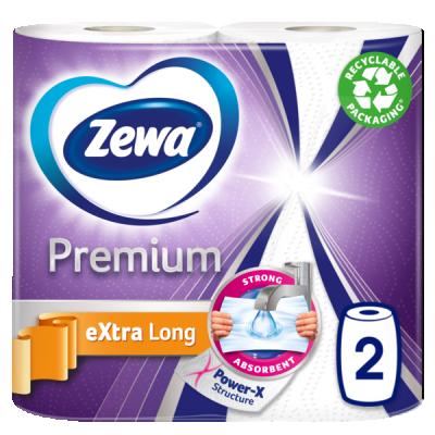 Кухненска ролка Zewa Premium Extra Long