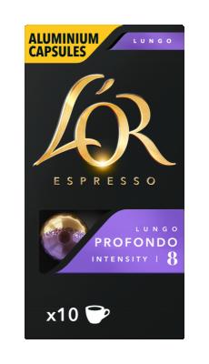 Кафе капсули LOR Espresso Profondo lungo