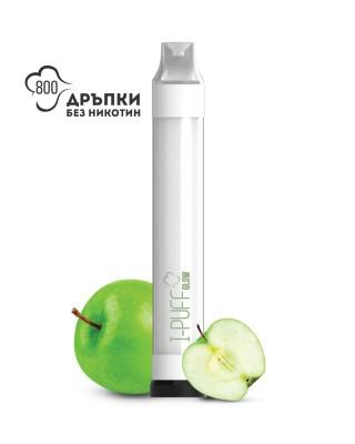 Електронно наргиле I-PUFF Glow Зелена ябълка