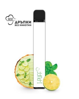 Електронно наргиле I-PUFF Limited Edition Лимонов пай