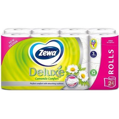 Тоалетна хартия Zewa Deluxe Camomile comfort