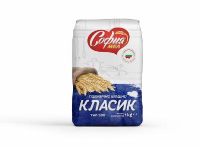Брашно пшенично класик тип 500 СОФИЯ МЕЛ