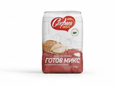 Брашно пшенично готов микс с мая СОФИЯ МЕЛ
