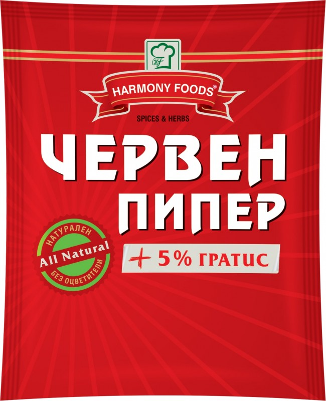 Червен пипер Harmony Foods
