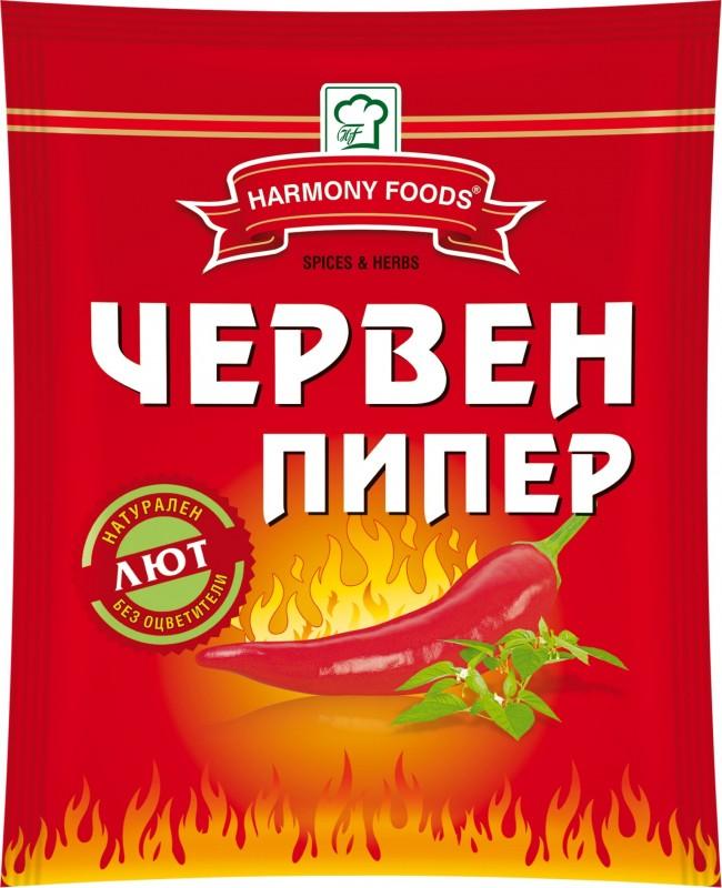 Червен пипер лют Harmony Foods
