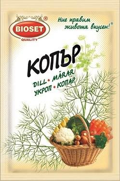 Копър на зърна Bioset
