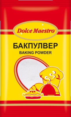 Бакпулвер Dolce Maestro