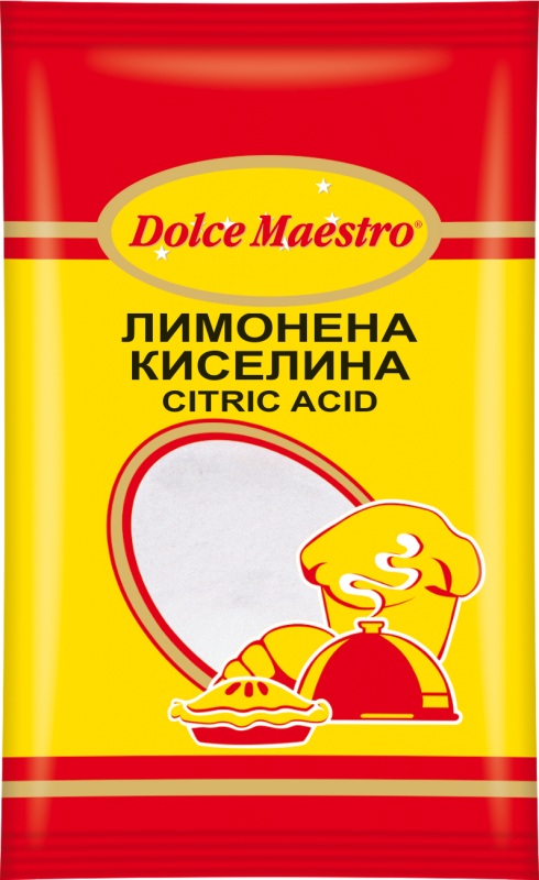 Лимонена киселина Dolce Maestro