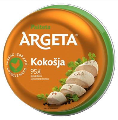 Пастет Argeta пилешки