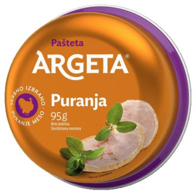 Пастет Argeta Пуешки
