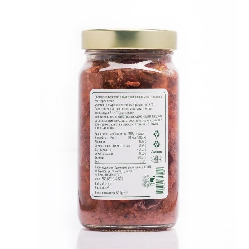 Конско месо в собствен сос Woods Foods
