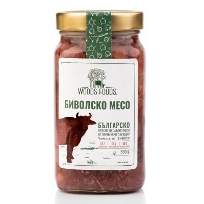 Биволско месо в собствен сос Woods Foods