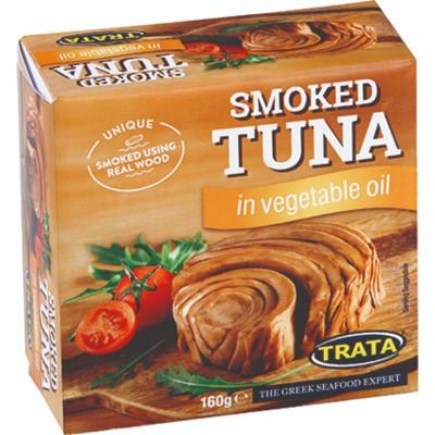 Риба Тон Trata пушена в растително масло