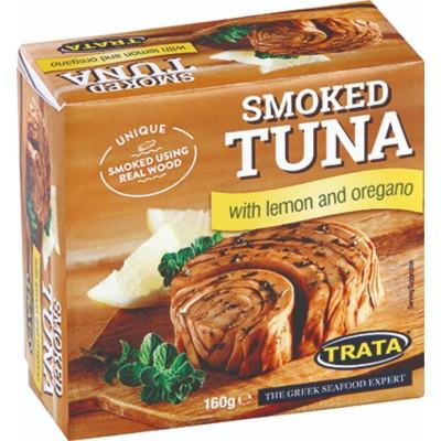Риба Тон Trata пушена с лимон и риган