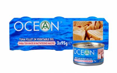 Риба Тон в растително масло Ocean парчета