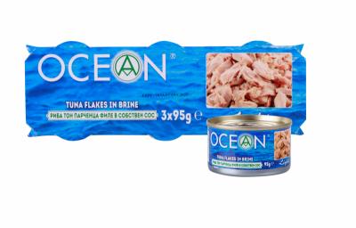 Риба Тон в собствен сос Ocean парчета