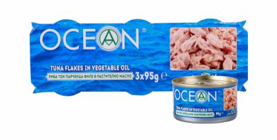 Риба Тон в растително масло Ocean филе