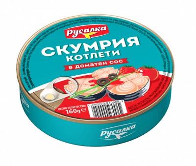 Скумрия котлети в доматен сос Русалка