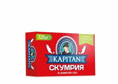 Скумрия в доматен сос Kapitan