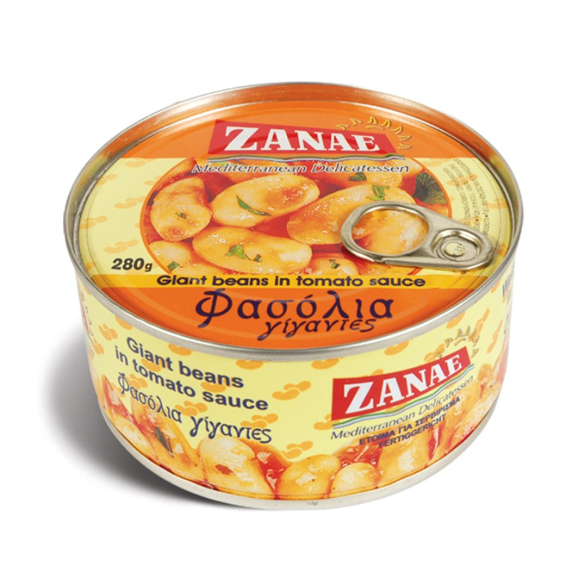Гигантски зрял фасул с доматен сос Zanae
