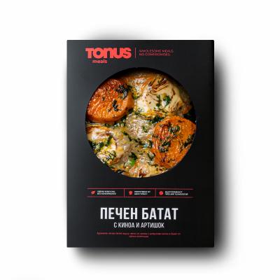 Печен батат Tonus Meals с киноа и артишок