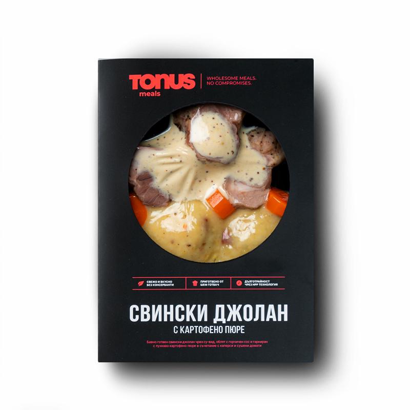 Свински джолан Tonus Meals с картофено пюре