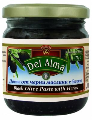 Паста от черни маслини с билки Del Alma