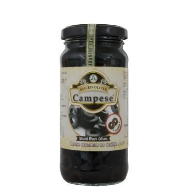 Маслини черни на шайби Campese