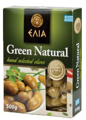 Маслини зелени ELIA
