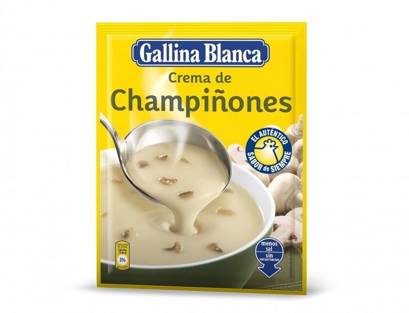 Крем супа от гъби Gallina Blanca