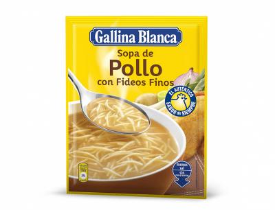 Пилешка супа с фиде Gallina Blanca