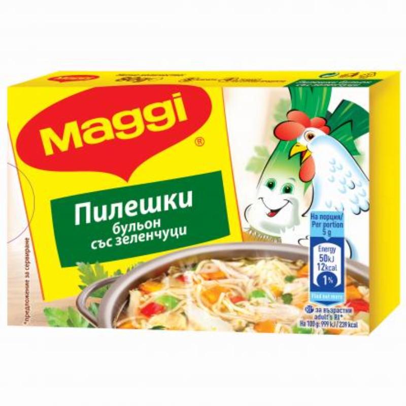 Maggi Бульон пилешки със зеленчуци