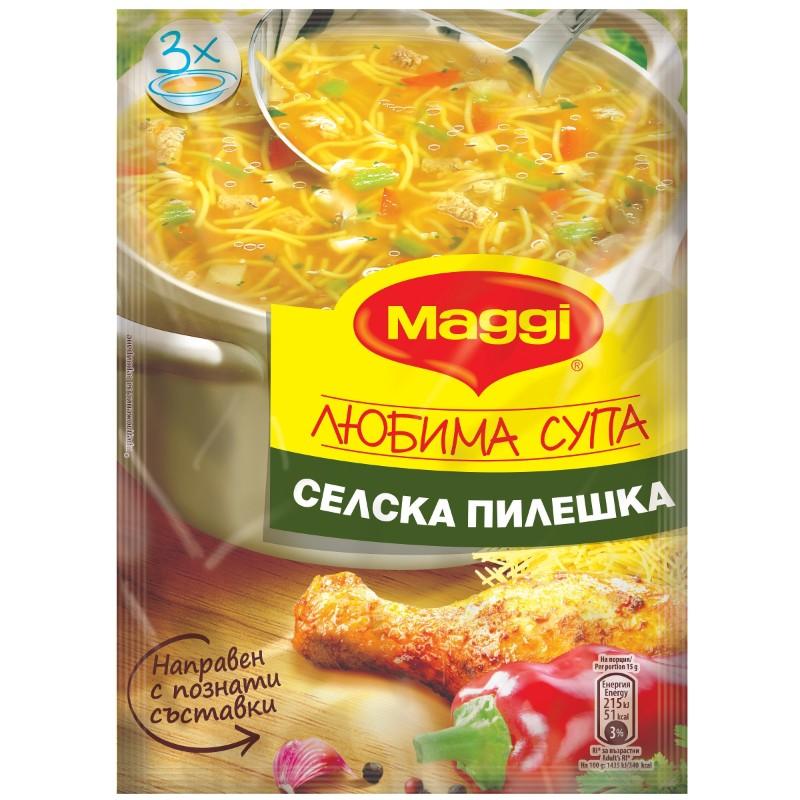 Maggi Супа селска пилешка