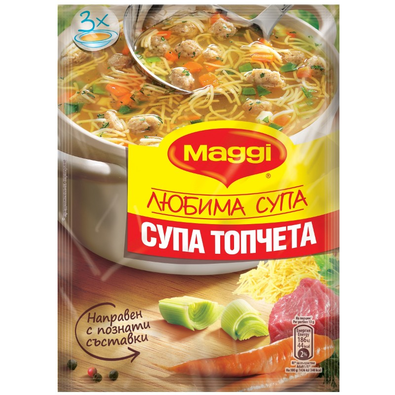 Maggi Супа топчета
