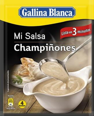 Гъбен сос Gallina Blanca