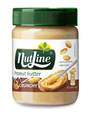 Фъстъчено Масло Nutline с Парченца