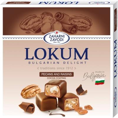 Локум Захарни заводи с орехи и глазура